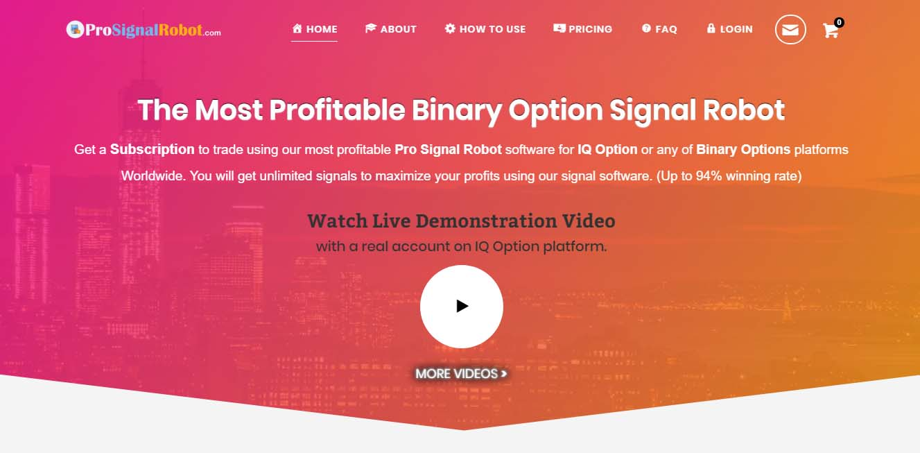 Most successful binary options signals